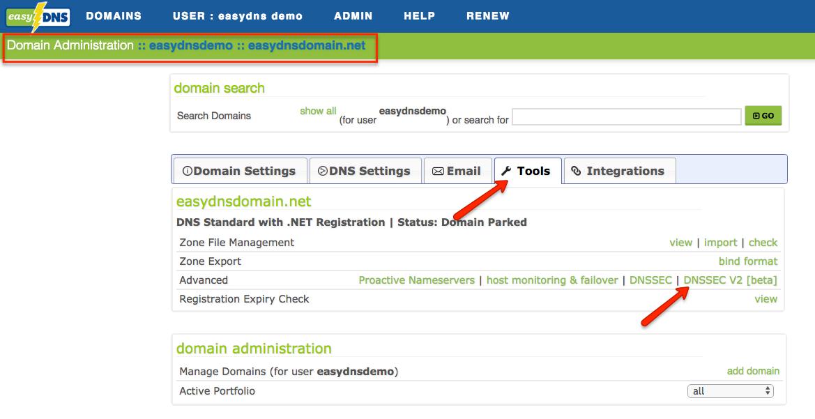 DNSSEC V2 (Beta) – easyDNS Technologies Inc